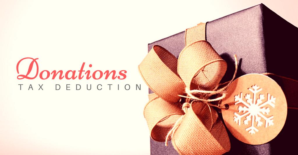 Tax Return - Tax Deduction for Donations?