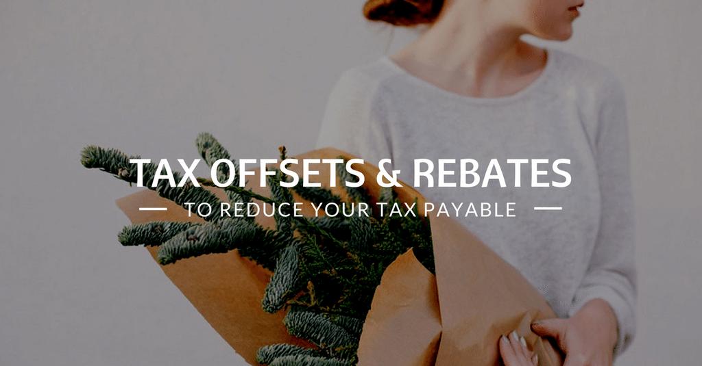 Tax Return - Tax Offsets and Rebates?